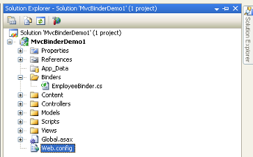 Add Model Binder Class